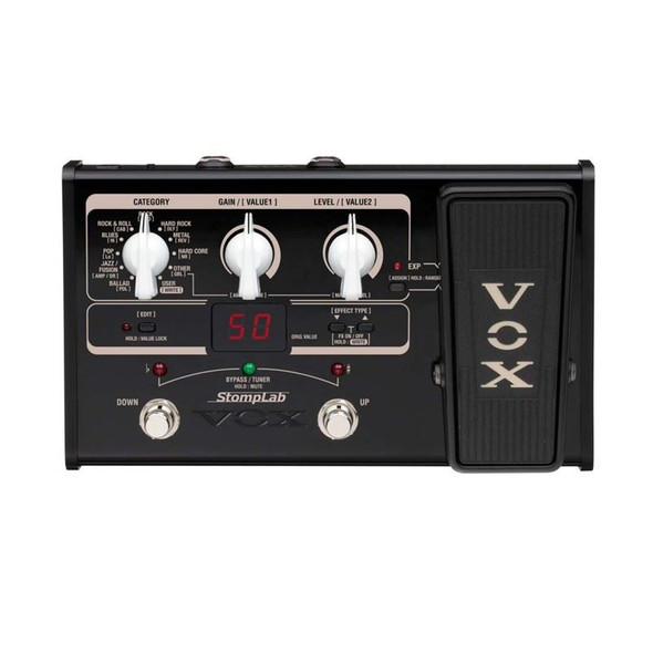 Vox SL2G Vox Multi-FX Guitar pedal with Expression 2021