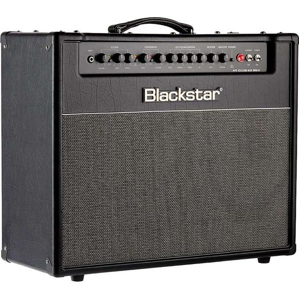 "Blackstar HT Club 40 Mark II - 40-watt 1x12"" Tube Combo Amp - Black and Blue Edition"