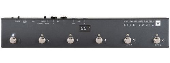 Blackstar Live Logic 6-button MIDI Footcontroller