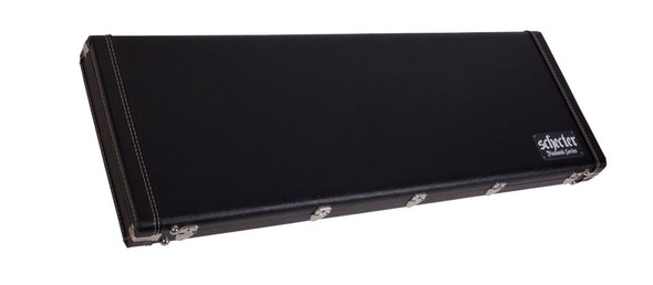 Schecter RS ULTRACURE VI G&G CASE 2020 BLACK WITH BLUE INTERIOR 982-SHC
