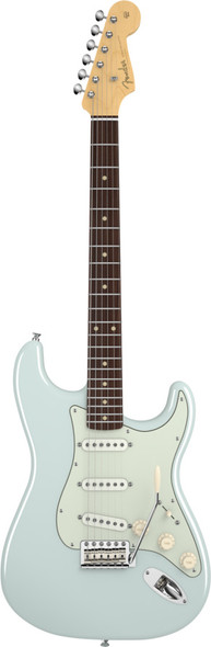 Fender American Vintage 59 Stratocaster Slab Rosewood Faded Sonic Blue