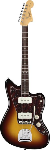 Fender American Vintage 65 Jazzmaster Bound Round-Lam RW Fingerboard 3-Color SB