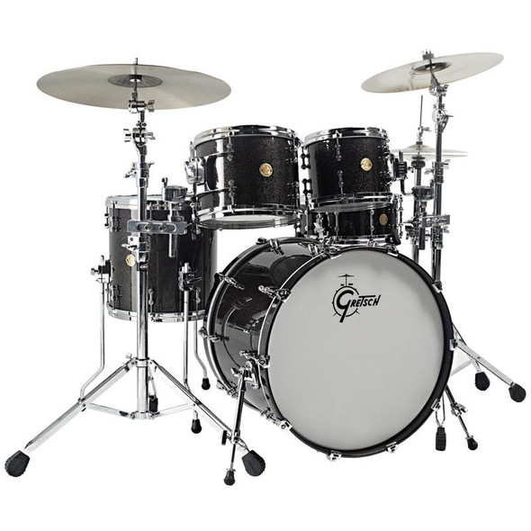 PC - Gretsch NC-F604-BSL Drums New Classic Groove 4 Piece Black Sparkle