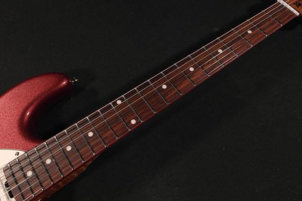 Ernie Ball Music Man Cutlass SSS Maroon Mist Roasted Rosewood