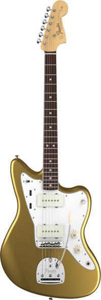 Fender American Vintage 65 Jazzmaster Bound Round-Lam RW Fingerboard Aztec Gold