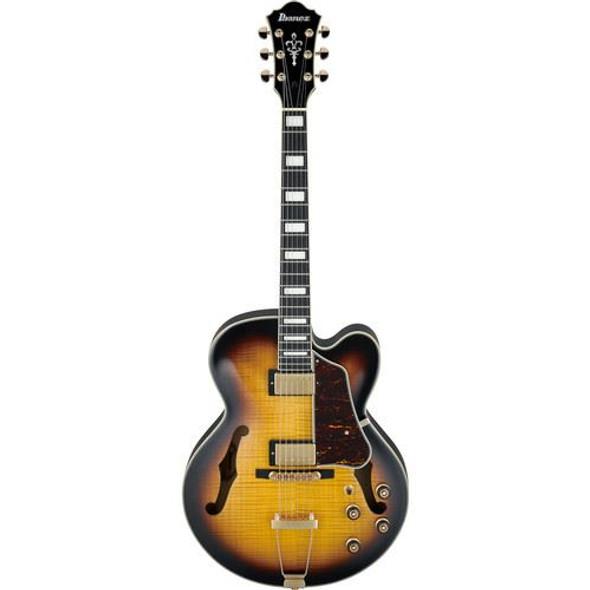 Ibanez AF95FMAYS AF Artcore Expressionist 6str Electric Guitar - Antique Yellow Sunburst