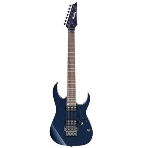 "Ibanez RG2027XLDTB RG Prestige 7str Electric Guitar (27"" scale) w/Case - Dark Tide Blue"