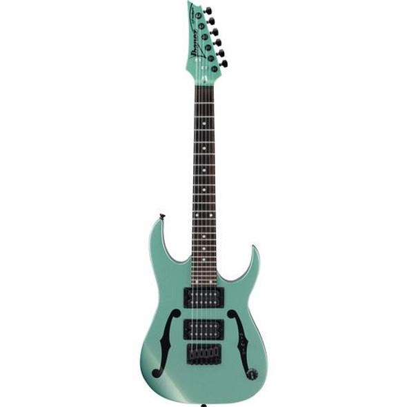"Ibanez PGMM21MGN Paul Gilbert Signature 6str Electric Guitar (22.2"" scale) - Metallic Light Green"