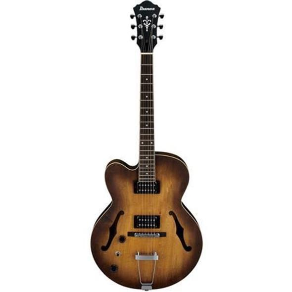 Ibanez AF55LTF AF Artcore 6str Electric Guitar  - Left handed - Tobacco Flat