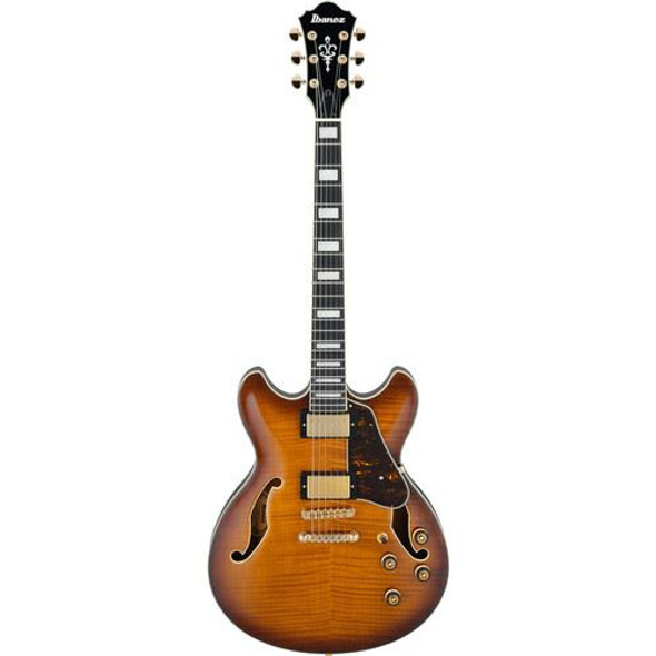 Ibanez AS93FMVLS AS Artcore Expressionist 6str Electric Guitar - Violin Sunburst
