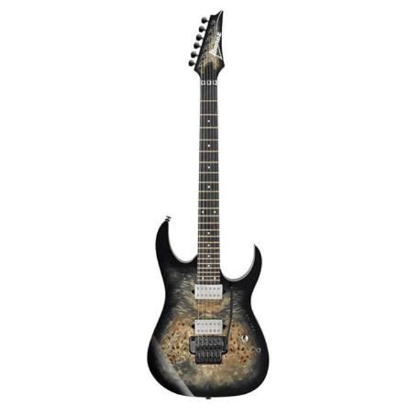 Ibanez RG1120PBZCKB RG Premium 6str Electric Guitar w/Bag - Charcoal Black Burst