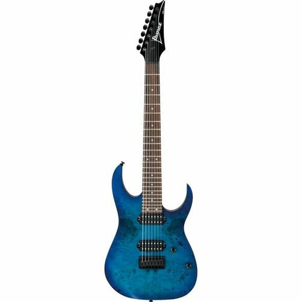 Ibanez RG7421PBSBF RG Standard 7str Electric Guitar - Sapphire Blue Flat
