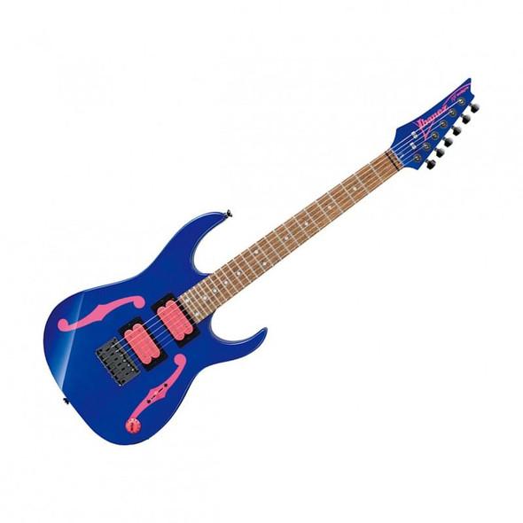 "Ibanez PGMM11JB Paul Gilbert Signature 6str Electric Guitar (22.2"" scale) - Jewel Blue"