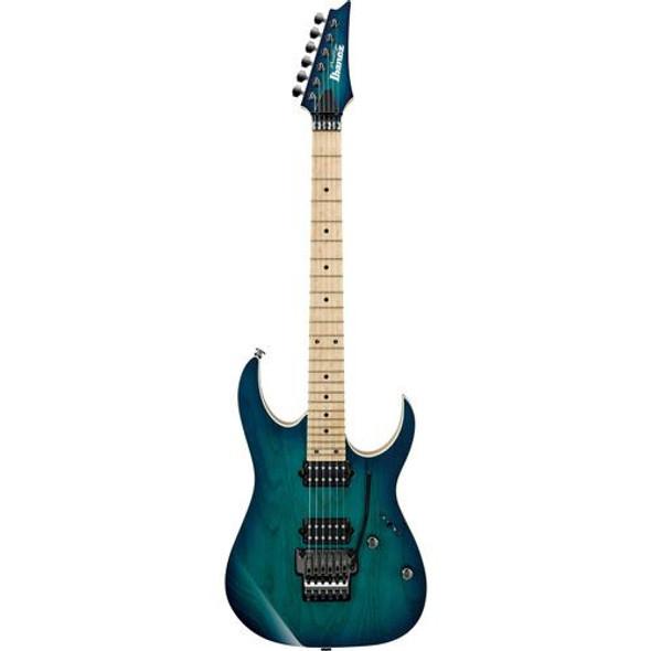 Ibanez RG652AHMNGB RG Prestige 6str Electric Guitar w/Case - Nebula Green Burst