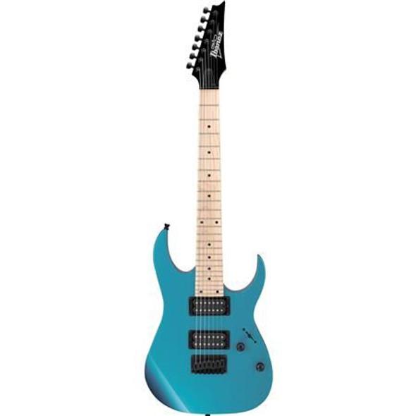 Ibanez GRG7221MMLB GIO RG 7str Electric Guitar - Metallic Light Blue