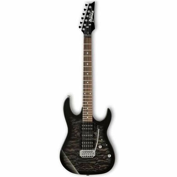 Ibanez GRX70QATKS GIO RX 6str Electric Guitar - Transparent Black Sunburst