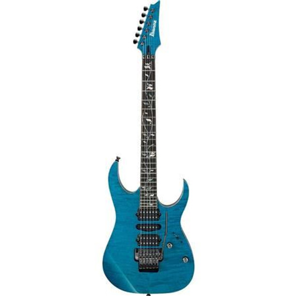 Ibanez RG8570ZCRA RG j.custom 6str Electric Guitar w/Case - Chrysocolla