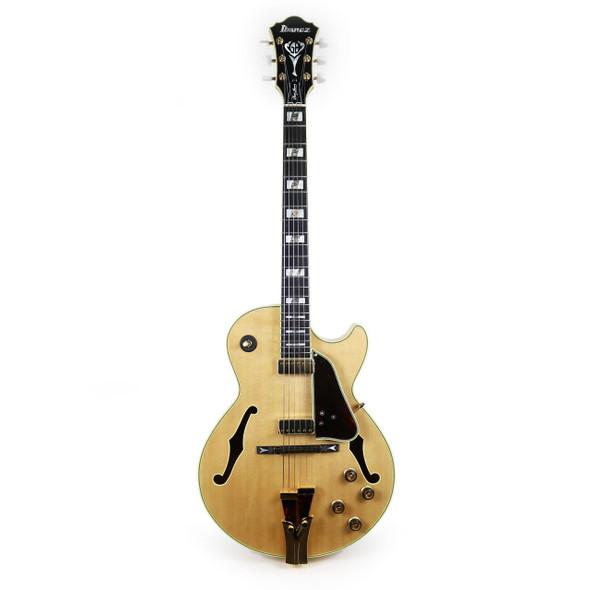 Ibanez GB10NT George Benson Signature 6str Electric Guitar w/Case - Natural