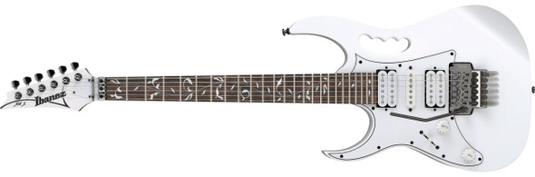 Ibanez JEMJRLWH Steve Vai Signature 6str Electric Guitar - Left Handed - White