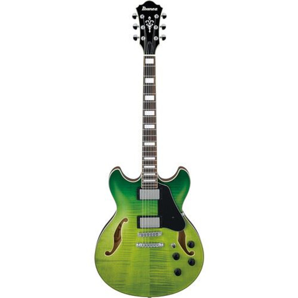 Ibanez AS73FMGVG AS Artcore 6str Electric Guitar  - Green Valley Gradation
