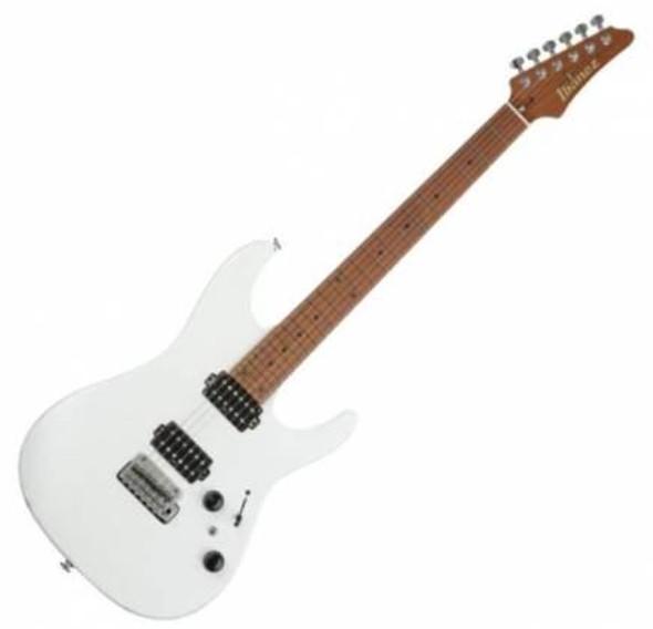 Ibanez AZ2402PWF AZ Prestige 6str Electric Guitar w/Case - Pearl White Flat