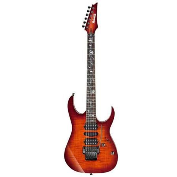 Ibanez RG8570ZBSR RG j.custom 6str Electric Guitar w/Case - Brownish Sphalerite