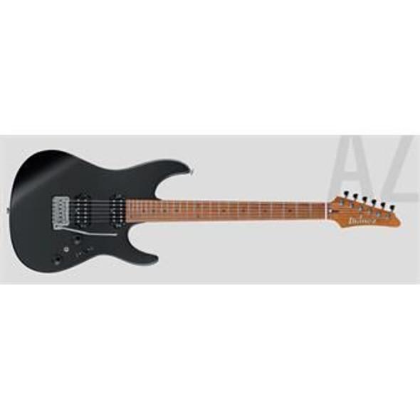 Ibanez AZ2402BKF AZ Prestige 6str Electric Guitar w/Case - Black Flat