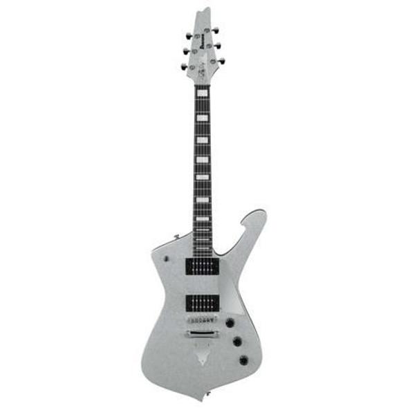 Ibanez PS60SSL Paul Stanley Signature 6str Electric Guitar  - Silver Sparkle