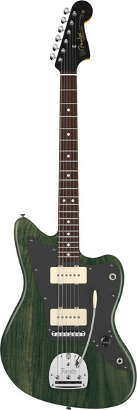 Fender THURSTON MOORE Jazzmaster Forest Green Transparent Artist Series