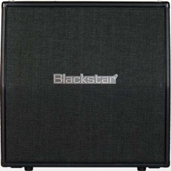 "Blackstar HTVMETAL412B - HT Metal 4X12"" STRAIGHT CELESTION LOADED METAL GRILL CABINET"