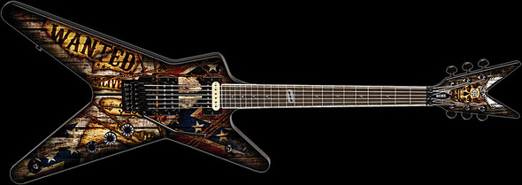 DISCONTINUED - Dean Dimebag Wanted ML