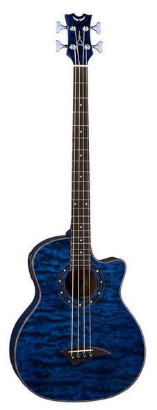 Dean Exotica Quilt Ash A/E Bass w/Aphex® TBL