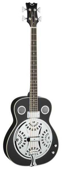 Dean Resonator Acoustic/Electric Bass - CBK