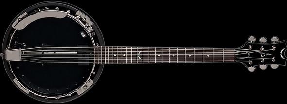Dean Backwoods 6 Banjo w/Pickup Black Chrome