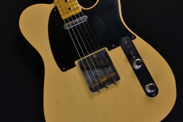 Fender Custom Shop 1951 Modern Spec Relic Nocaster - Maple Fingerboard - Nocaster Blonde 195