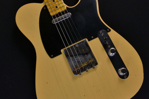 Fender Custom Shop 1951 Modern Spec Relic Nocaster - Maple Fingerboard - Nocaster Blonde 195