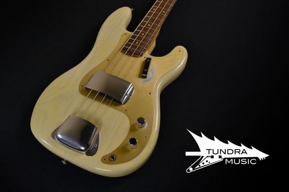 Fender Custom Shop 1959 Journeyman Precision Bass - Vintage Blonde