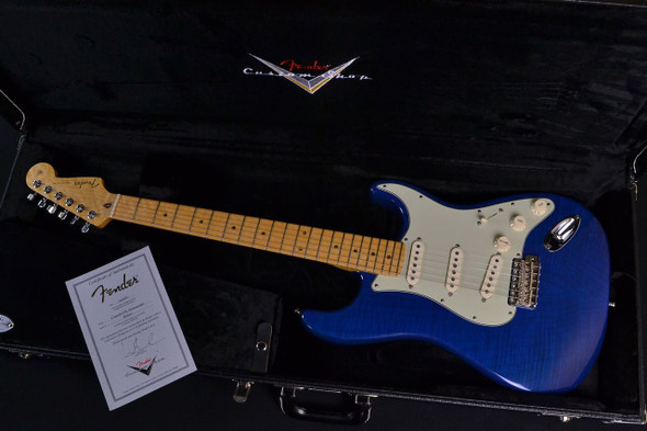 Fender Custom Shop Custom Deluxe Stratocaster – Candy Blue 710