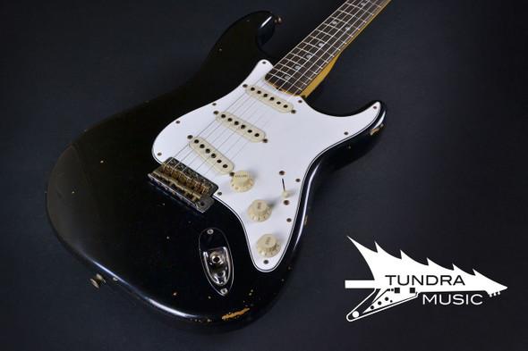 Fender Custom Shop 1969 Stratocaster Relic - Black