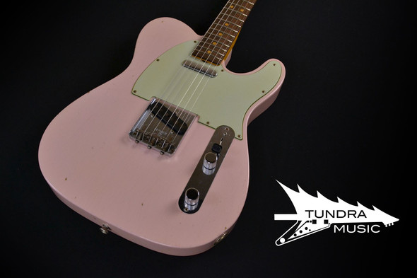 Fender Custom Shop '60's Journeyman Telecaster Relic - Faded Shell Pink