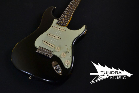 Fender Custom Shop 1963 Relic Stratocaster - Black 263