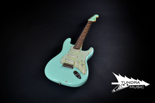Fender Custom Shop 1960 Relic Stratocaster - Surf Green