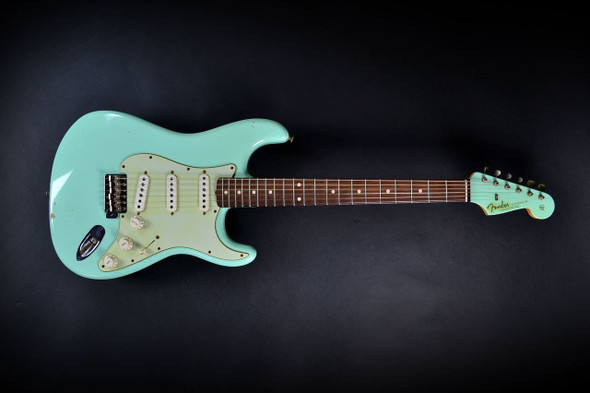 Fender Custom Shop 1960 Relic Stratocaster - Surf Green