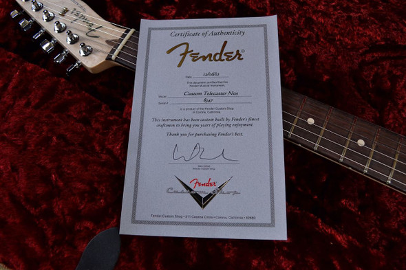 Fender Custom Shop Telecaster Humbucker - Black 347