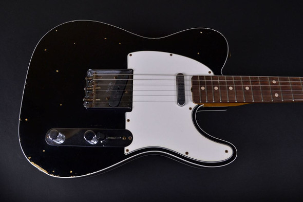 Fender Custom Shop 1961 Relic Telecaster Custom - Black