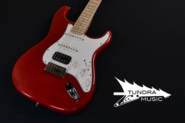Fender Custom Shop Limited Edition Custom Deluxe Stratocaster – Trans Red