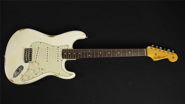 Fender Custom Shop 1960s Stratocaster Relic - Olympic White - 9230900205 (181)