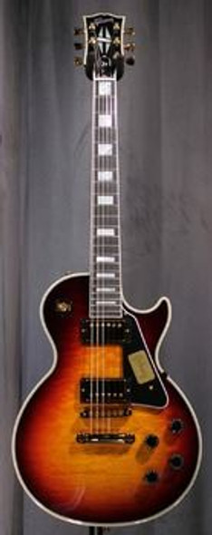 Gibson Custom Shop Les Paul Custom Quilt Top - Bourbon Burst