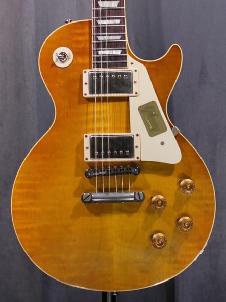 Gibson Custom Shop 1958 Les Paul Reissue VOS 2014 - Lemonburst