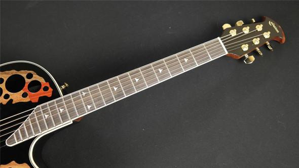 Ovation 2078 AX Deep Contour Acoustic-Electric Guitar Black (098)